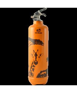 Extincteur poudre 1kg Savane orange