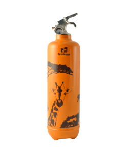 Extinguisher powder 1kg Savane orange