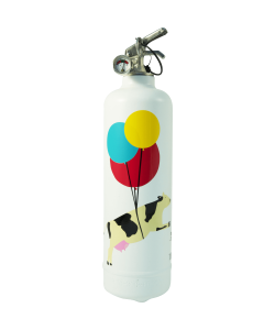 Fire extinguisher design TC Flying Cow