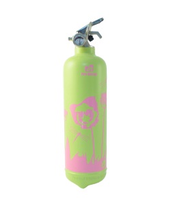 Fire extinguisher design Tulipe VP