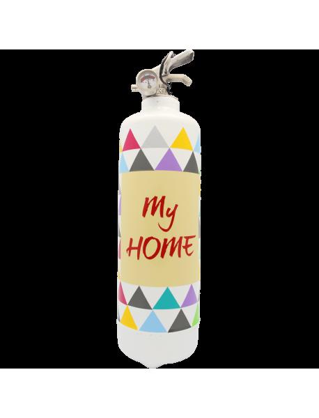 Extincteur design My Home blanc