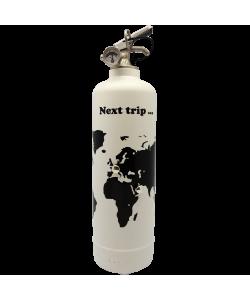 Estintore design Next Trip bianco