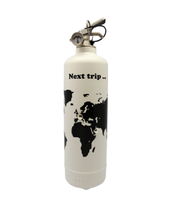 Fire extinguisher design Next Trip white