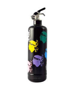 Fire extinguisher design Corsica Colors black