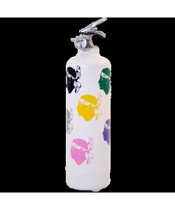 Extincteur design Corsica Colors blanc