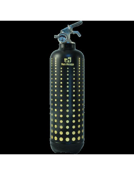 Fire extinguisher design Led black