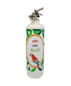 Fire extinguisher design DDC Allo Allo