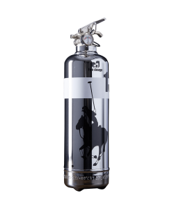 Fire extinguisher design Polo chrome