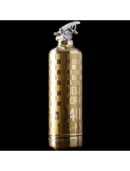 Fire extinguisher design Rallye RG gold