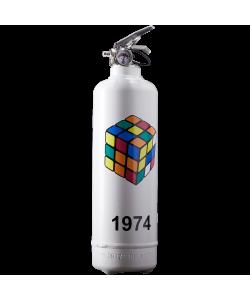 Fire extinguisher design Rubiks 1974 Classic
