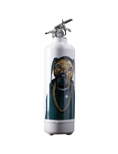 Estintore design Pets Rock Snoop