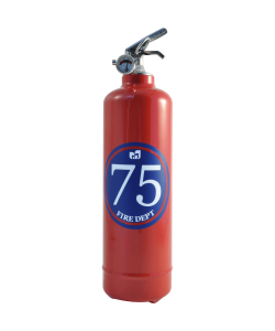 Fire extinguisher design dept 75 red