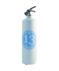 Fire extinguisher design Dept 13 white