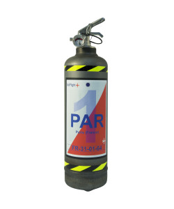 Fire extinguisher powder Fly Paris vintage
