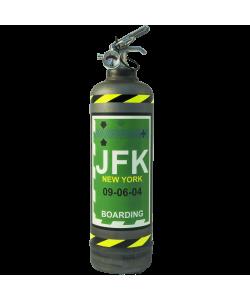 Extincteur à poudre ABC Fly JFK vintage