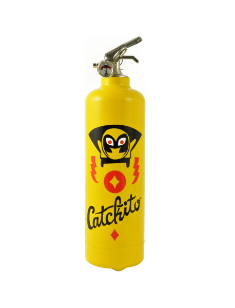 Extincteur maison AKLH Super catchito jaune