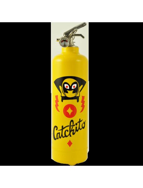 Fire extinguisher design AKLH Super catchito yellow