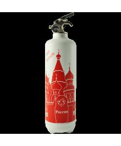 Extincteur déco Moscou blanc