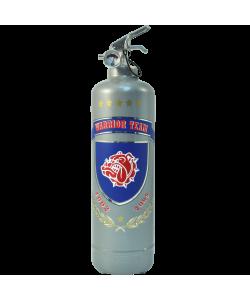 Fire extinguisher design Warrior Team