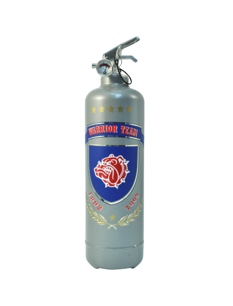 Fire extinguisher design Warrior Team