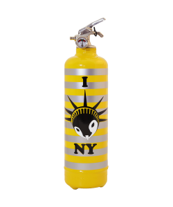 Fire extinguisher design CDE Yes yellow