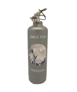 Fire extinguisher design Smiley For Freedom