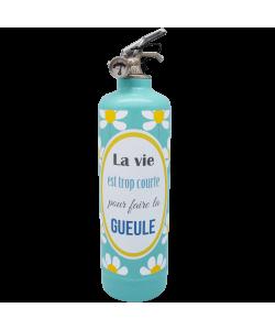 Fire extinguisher design DDC La vie Trop Courte