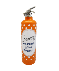 Fire extinguisher design DDC Souriez