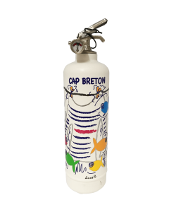 Fire extinguisher design POP LOLLI Cap Breton