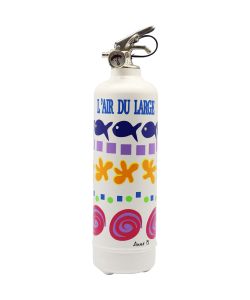 Fire extinguisher design POP LOLLI air du large