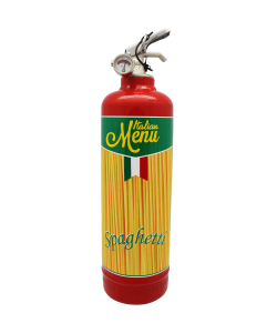 Fire extinguisher design Spaghetti