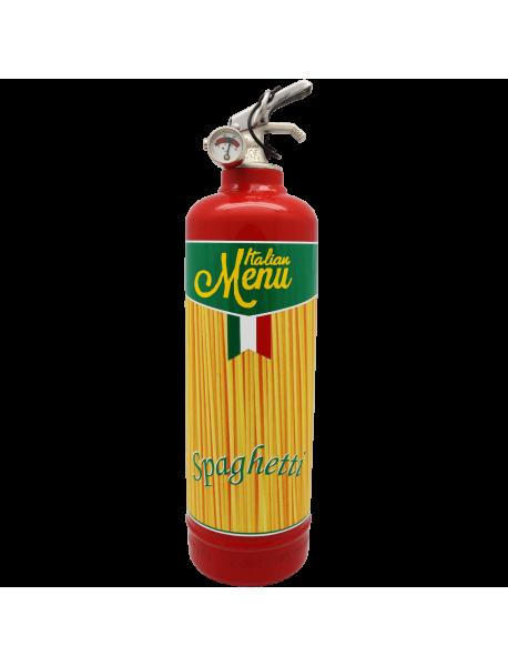 Fire extinguisher design Spaghetti