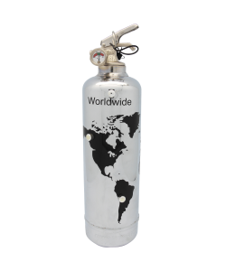 Fire extinguisher design Worldwide Chrome