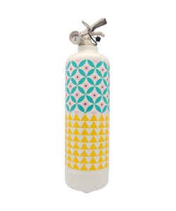 Fire extinguisher design Paperwall white