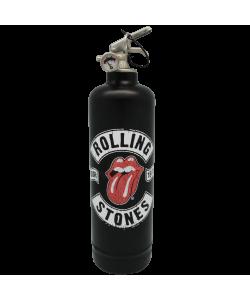 Estintore design Rolling Stones Tour 78 nero