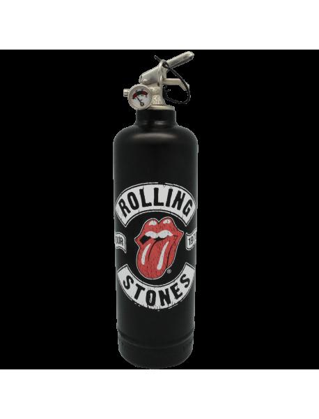 Extincteur design Rolling Stones Tour 78 noir
