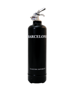 Fire extinguisher design Spirit Barcelona black