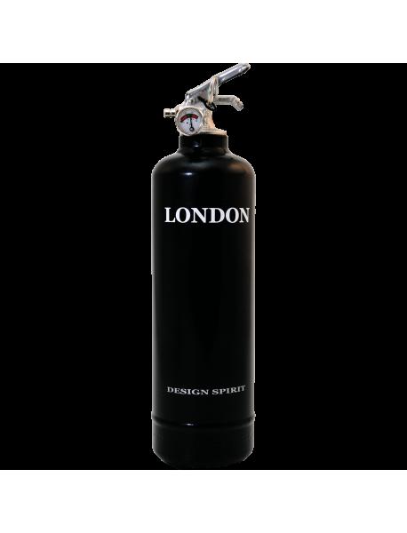 Extincteur déco Spirit London noir