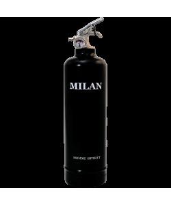 Estintore design Spirit Milan nero