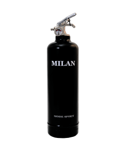 Fire extinguisher design Spirit Milan black