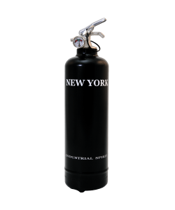 Estintore design Spirit New York nero