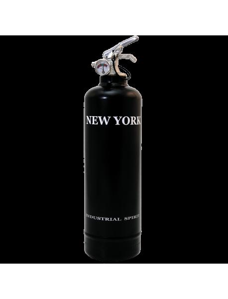 Extincteur déco Spirit New York noir