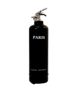 Fire extinguisher design Spirit Paris black