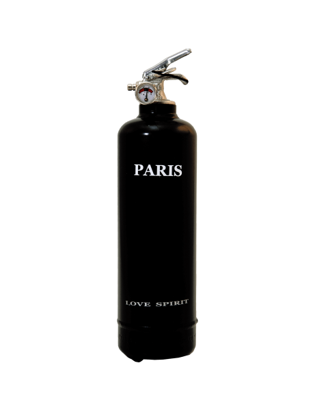 Estintore design Spirit Paris nero