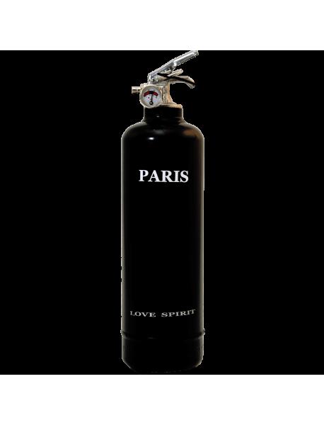 Extincteur déco Spirit Paris noir