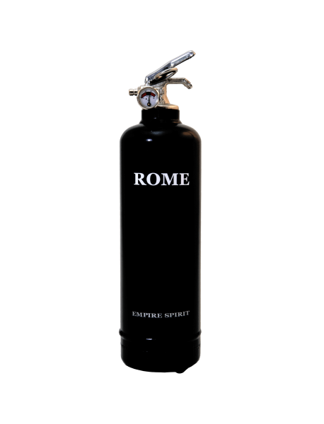 Fire extinguisher design Spirit Roma black