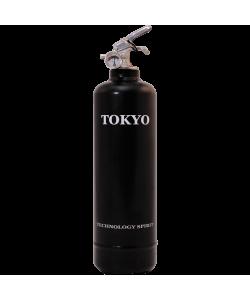 Extincteur déco Spirit Tokyo noir