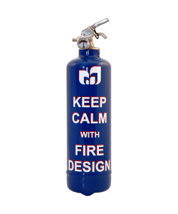 Fire extinguisher design Calm FD blue