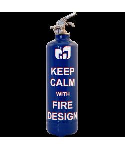 Fire extinguisher design Calm FD blue