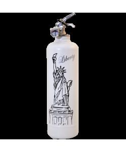 Extincteur design Liberty blanc